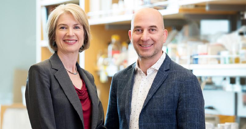 GSK宣布與兩大CRISPR專家Doudna、Weissman合作,盼解開遺傳疾病基因體謎團。(圖片來源:UC Berkely)