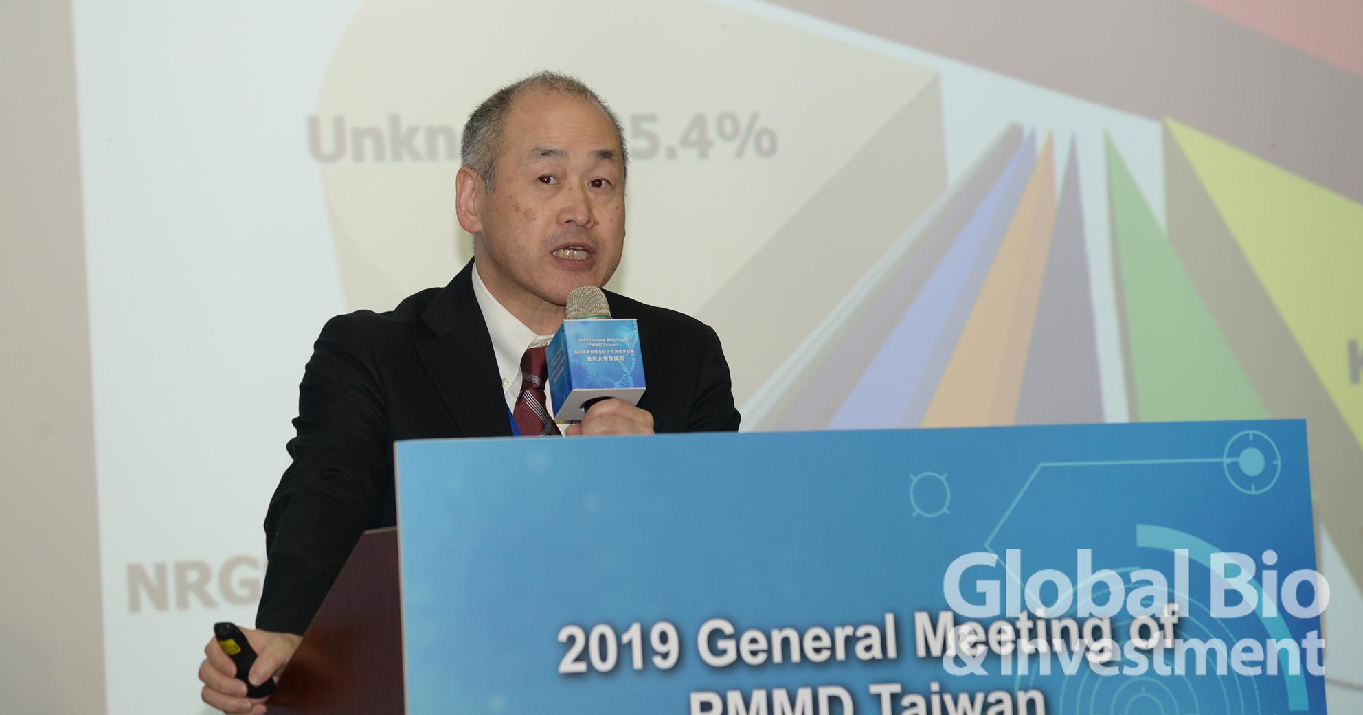 日本國家癌症中心胸腔腫瘤科醫師Koichi Goto應邀出席演講。(攝影:林嘉慶)