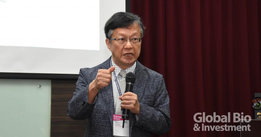 益福生醫創辦人,陽明大學生化所蔡英傑教授(攝影/李林璦)