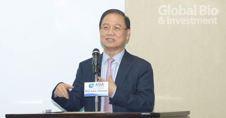 亞洲生技大會籌委會主席李鍾熙。(攝影: 林嘉慶)