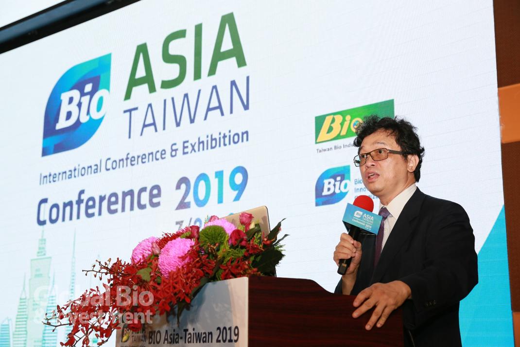 謝達斌表示,臺灣未來也會是亞太地區優秀的投資夥伴。(攝影:彭定凱)