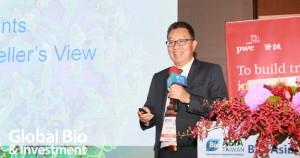 創新生物製藥公司Apollomics的全球執行長Guo-Liang Yu 博士(攝影/彭定凱)