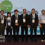 今(26),Bio Asia Taiwan生技大會中,針對近年相當熱門的醫療AI領域舉行了論壇研討。(攝影/羅翊芳)