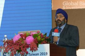 Guardant Health 亞洲、中東和非洲區執行長Simranjit Singh。(攝影:林嘉慶)
