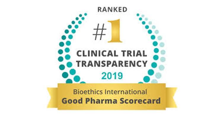 全球大藥廠臨床試驗透明度評比出爐 羅氏、諾和諾德奪雙冠。(圖片來源:Bioethics International官方網站)