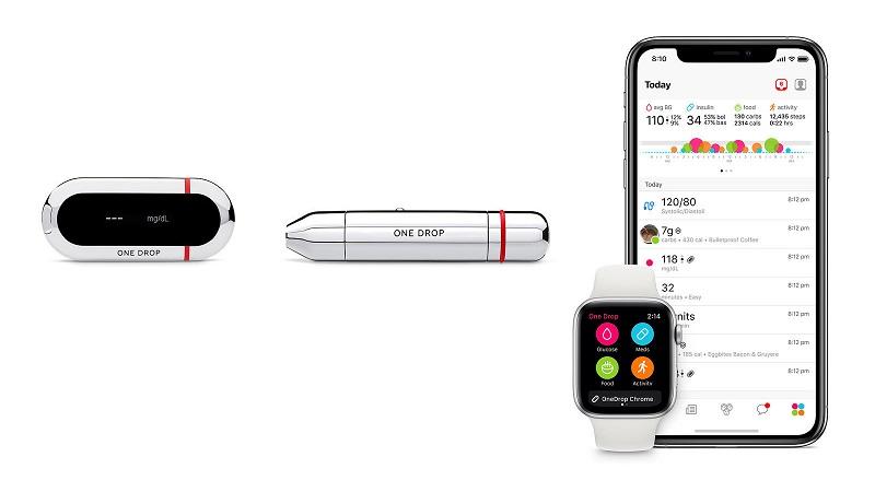 Apple體店面首次銷售糖尿病管理設備 體現進軍醫療野心。(圖片來源:網路)