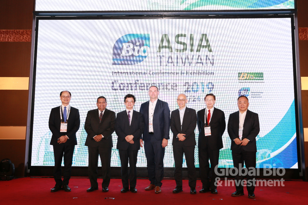 BIO Asia-Taiwan亞洲生技大會以「細胞及基因療法」為題舉辦專題場次演講。(攝影: 彭定凱)