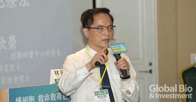 花蓮慈濟醫院院長林欣榮以「回春抗老」為題,介紹細胞療法在腦神經、骨科和美容的應用。