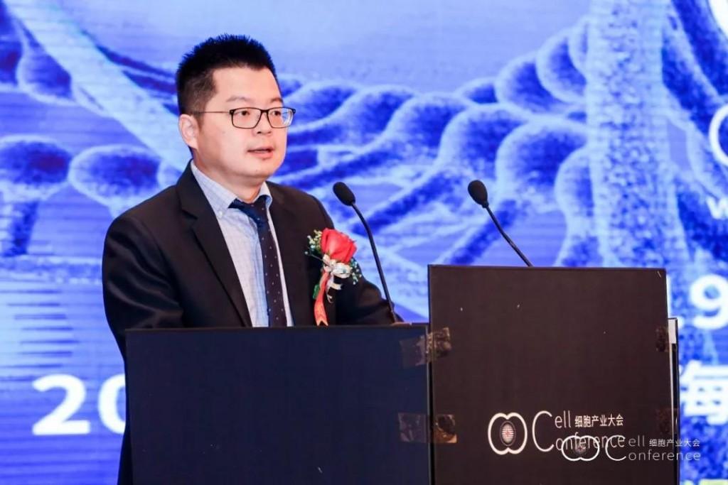 中國衛生信息與健康醫療大數據學會細胞生物產業化專委會秘書長孟君(圖/細胞展業大會提供)