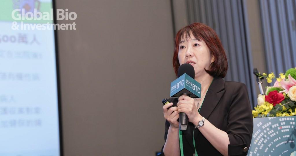 行政院科技會報辦公室生衛醫農組組主任劉祖惠