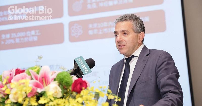 禮來公司市場策略副總裁Nicolas Chemali(攝影/彭定凱)