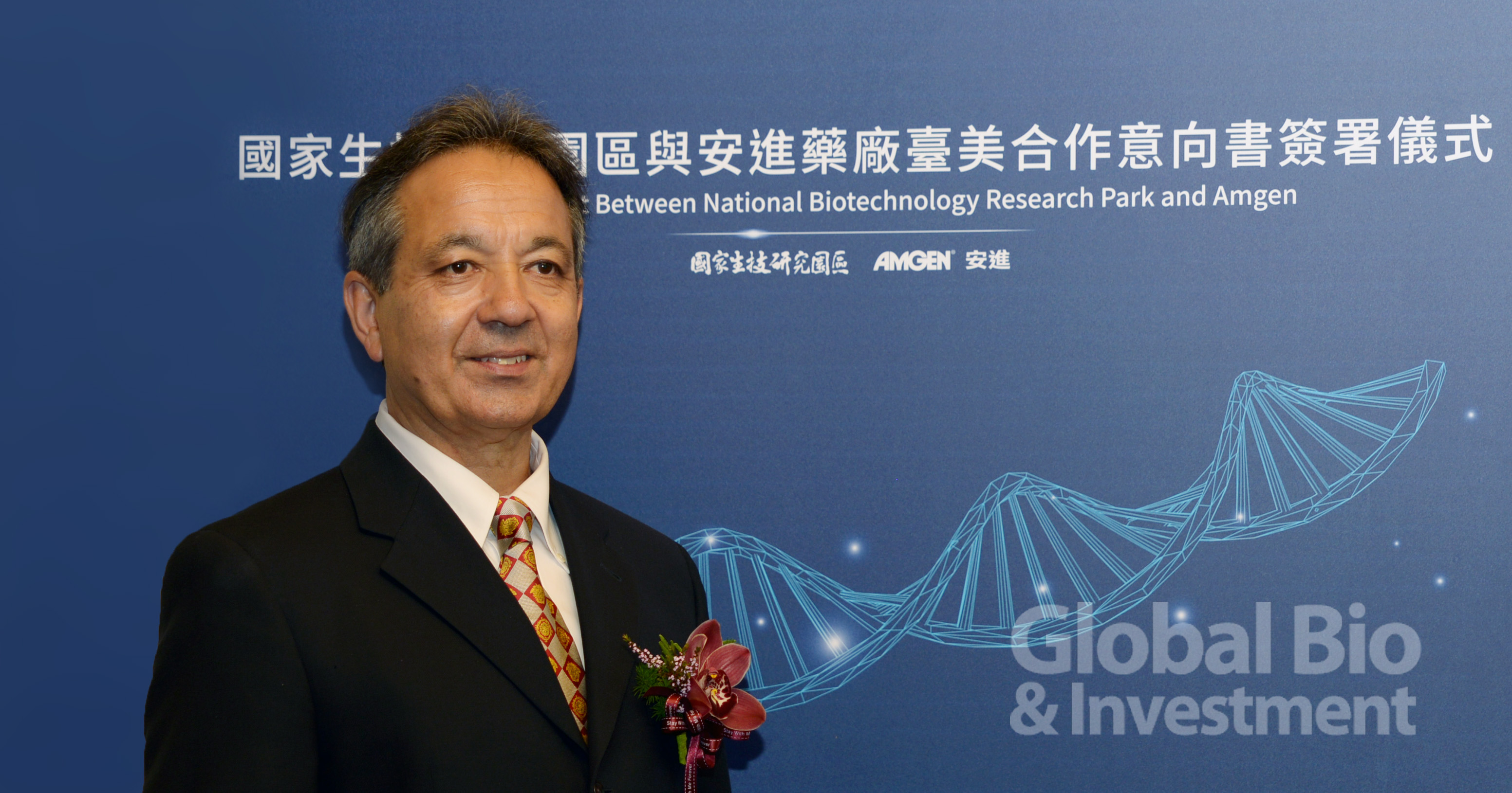 Amgen安進全球研發副總裁Philip Tagari (攝影/林嘉慶)