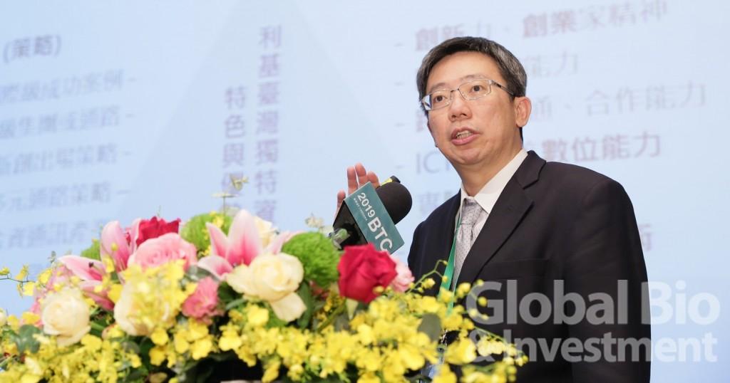 教育部資訊及科技教育司司長郭伯臣。(攝影/彭定凱)