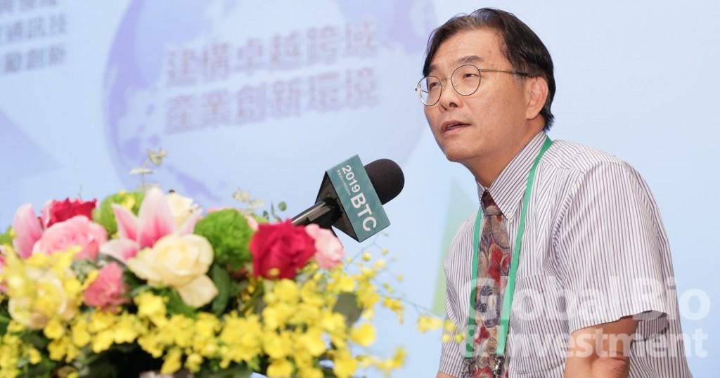 科技部生命科學研究發展司司長莊偉哲。(攝影/彭定凱)
