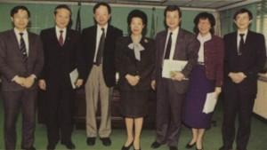 1997年,陳紹琛與吳樹民拜訪衛生署。圖為當時醫界聯盟的吳樹民醫師(右三)、陳寬墀理事(左二)拜訪衛生署張博雅署長(中立),其他三位是蕭美玲 處長(右二)、張鴻仁副處長(右一)、 和涂醒哲(左一)