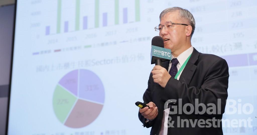 中華開發生醫基金總經理徐大誠。(攝影/彭定凱)