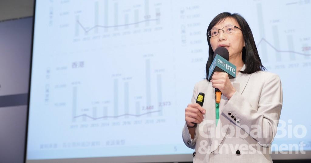 資誠聯合會計師事務所副所長曾惠瑾。(攝影/彭定凱)