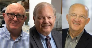 2019拉斯克獎臨床醫學研究獎得主。左起:Michael Shepard博士、Dennis Slamon博士、Axel Ullrich博士。(圖片來源:Albert And Mary Lasker Foundation)