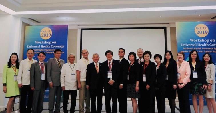 李伯璋率團赴菲主辦新南向醫療經驗交流會 展現健保、智慧科技軟實力。(圖片來源:健保署)