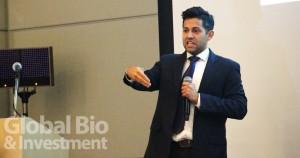全球生物科技創新協會(BIO)科學與法規事務主任Sesquile Ramon指出基因療法可能是全球95%遺傳疾病的有效解方,但全球目前對生殖細胞的基因編輯仍持反對態度。(攝影/吳培安)