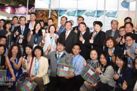 涂醒哲率領近60位臺灣產學界成員,赴日本參與BioJapan 2019 (攝影/巫芝岳)