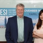 RESI Taipei將為臺灣生醫注入資金活水(圖左為LSN執行長Dennis Ford,圖右為資深市場投資分析師楊涵婕)(攝影/吳培安)