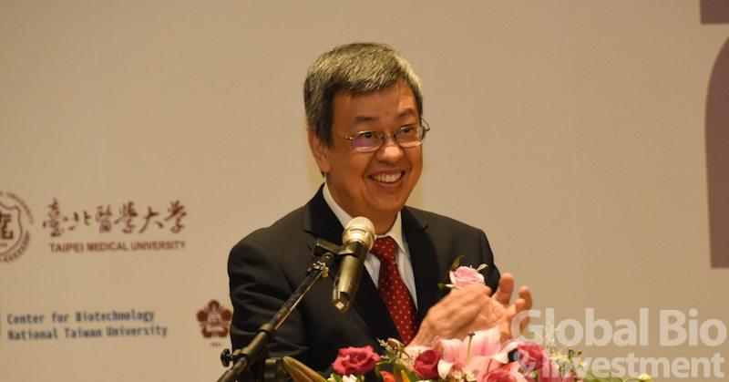 副總統陳建仁也特地蒞臨現場,並表示台灣生技產業有望成為下一個兆元產業。(攝影/李林璦)