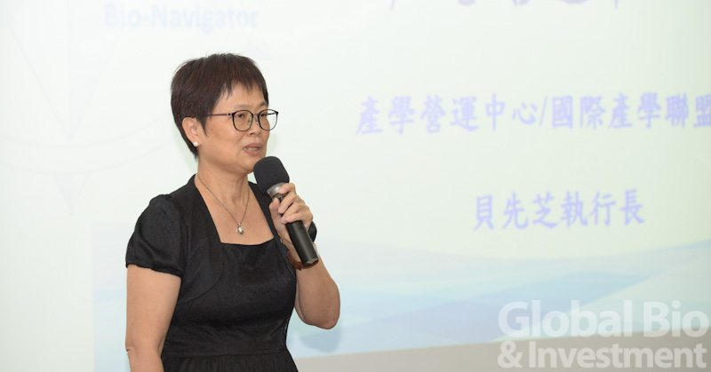 國立陽明大學國際產學聯盟執行長貝先芝。(攝影:林嘉慶)