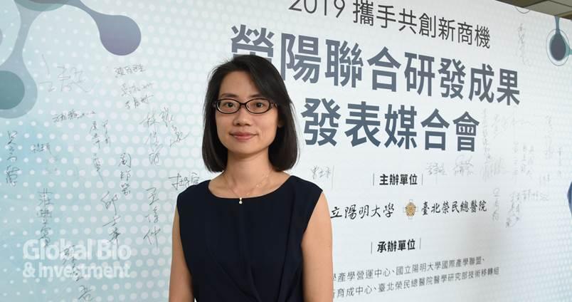台北榮總耳鼻喉頭頸醫學部鼻頭頸科科主任藍敏瑛。(攝影:李林璦)