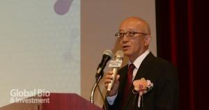 陽明大學副校長康照洲表示,此次發表會展現了陽明大學在基礎研究上的豐碩成果 (攝影/林嘉慶)