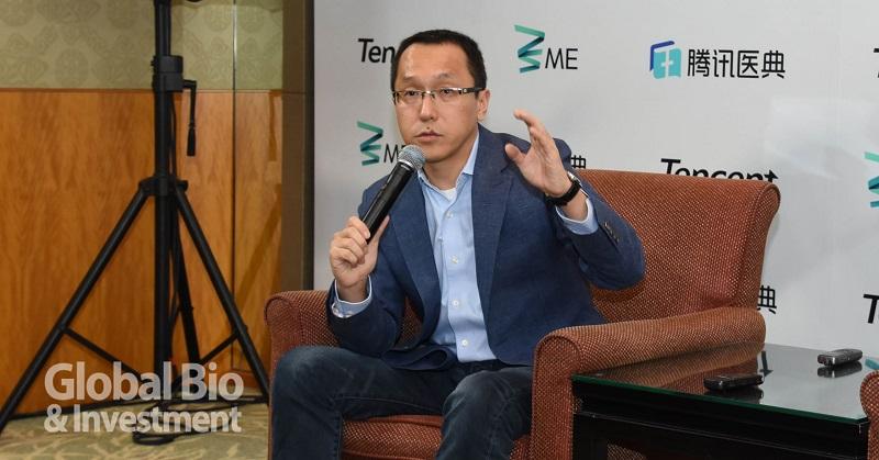騰訊副總裁張猛