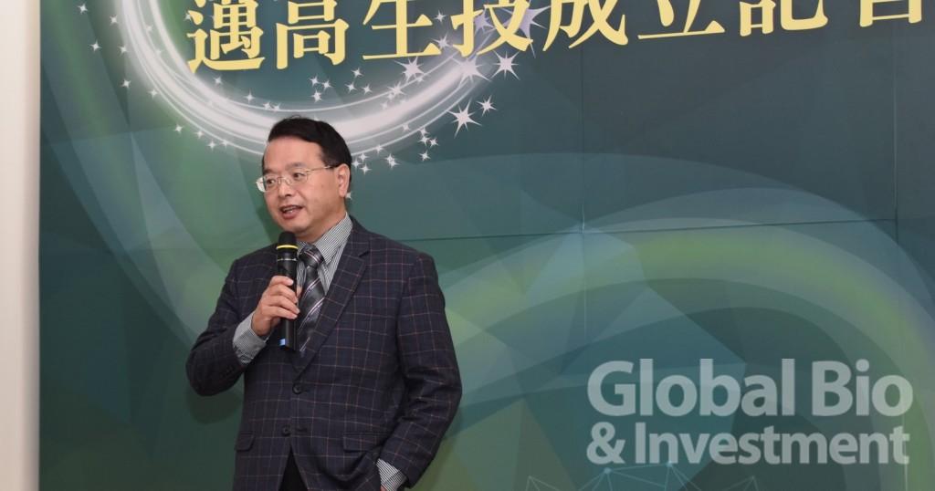 財團法人生物技術開發中心執行長吳忠勳。(攝影:吳培安)