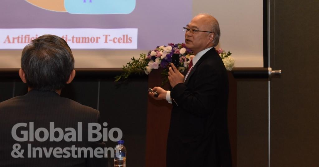 日本癌症免疫協會(JACI)會長河上裕。(攝影:吳培安)