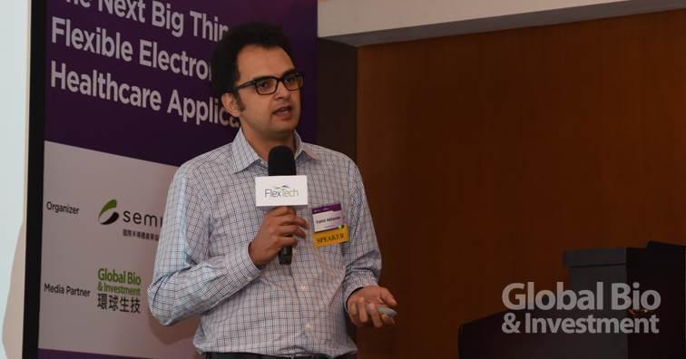 美國NovaCentrix全球應用工程領導人Vahid Akhavan。(攝影:吳培安)