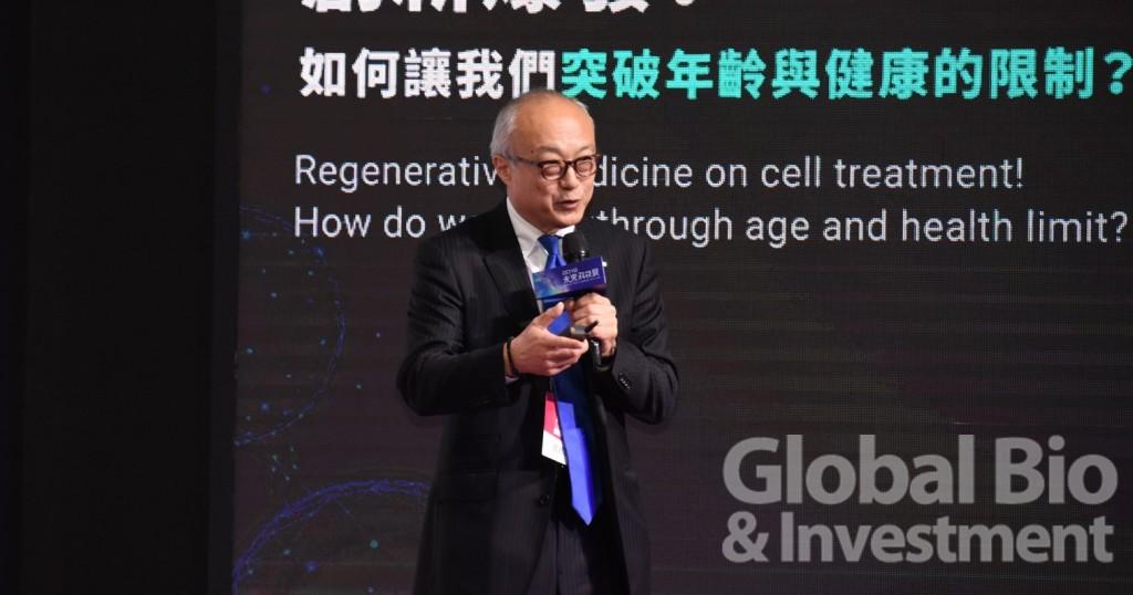 鈴木表示,日本的細胞治療仍在不斷學習失敗經驗,將法規框架調整得更完善。(攝影:吳培安)
