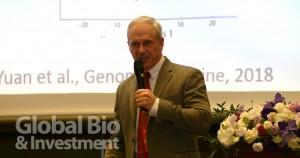 哥倫比亞大學醫學中心神經病理部門主任 Peter D. Canoll (攝影/李林璦)
