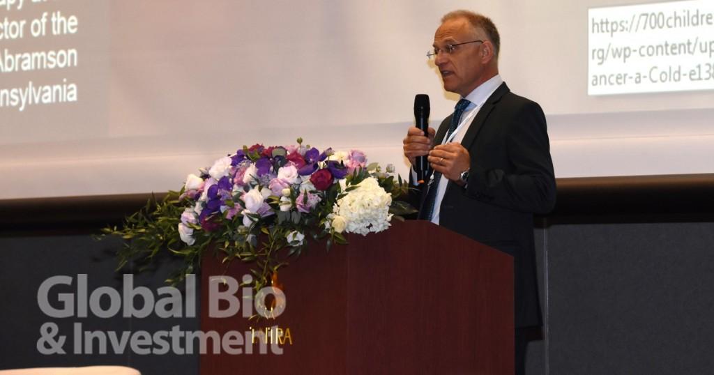 諾華全球藥物評估與商業授權副總裁Markus Kalousek。(攝影:吳培安)