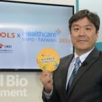 圖爾思微生物體研究中心執行長劉君豪。(攝影:林嘉慶)