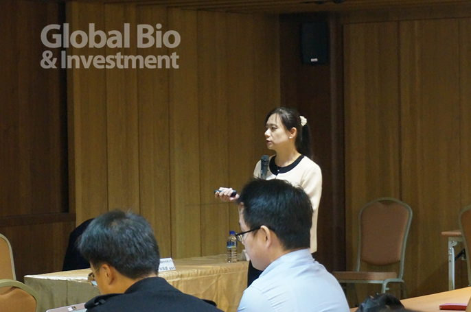 永昕總經理陳佩君,宣示將打造永昕2.0,帶領永昕轉型為從DNA到GMP的一站式服務平台。(攝影/彭梓涵)