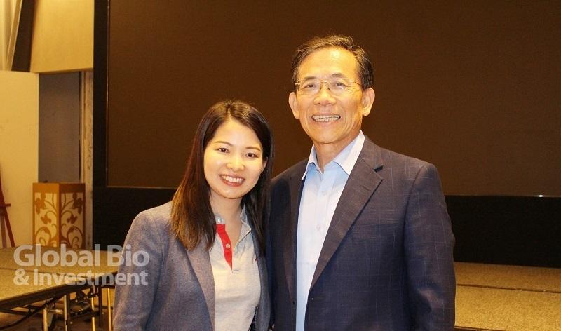 益安董事長張有德表示,當初併購達亞的主因是其在國際客戶之間具有良好的口碑,所以認為達亞在資本市場上應該得到支持。(攝影/劉端雅)