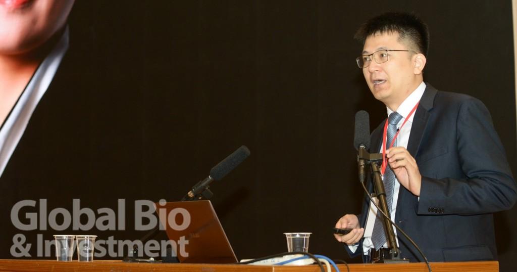 中國熱心腸生技研究院執行長藍燦輝。(攝影:林嘉慶)
