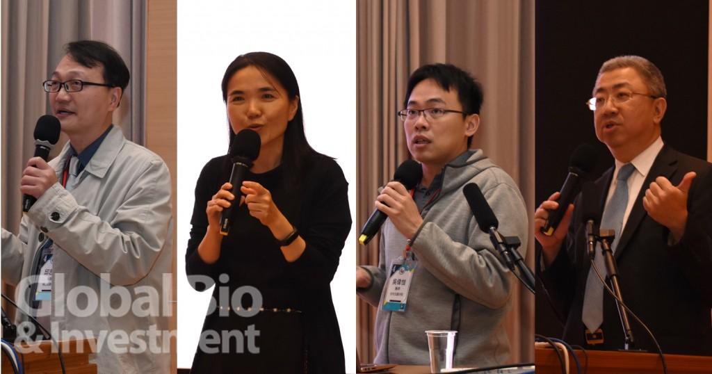 今(4)日,第四屆亞洲微生物體趨勢論壇中,針對腸道微生物與代謝相關議題進行研討,與會專家們發表了各自與微生物代謝相關的研究 (攝影:吳培安)