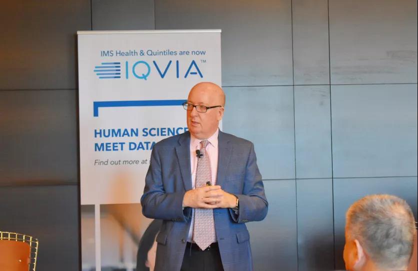 艾昆緯全球高級副總裁Murray Aitken。