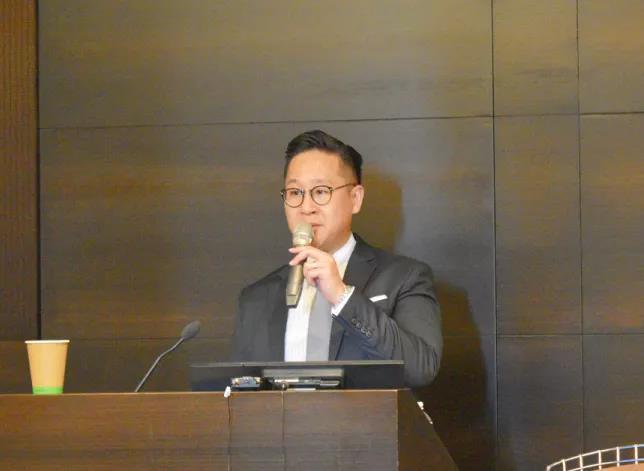 艾昆緯中國管理諮詢總監陳勁豪(圖、文/世易醫健提供)