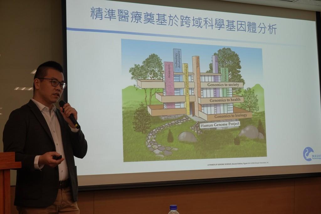 偉薩科技洪崇凱執行長。(圖片來源:醫盟基金會)