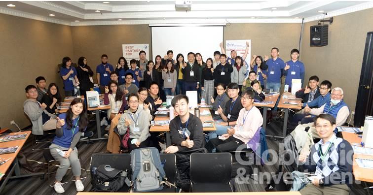 光鼎生技於22-23日舉辦為期一天半的生技產業體驗營。(攝影:林嘉慶)
