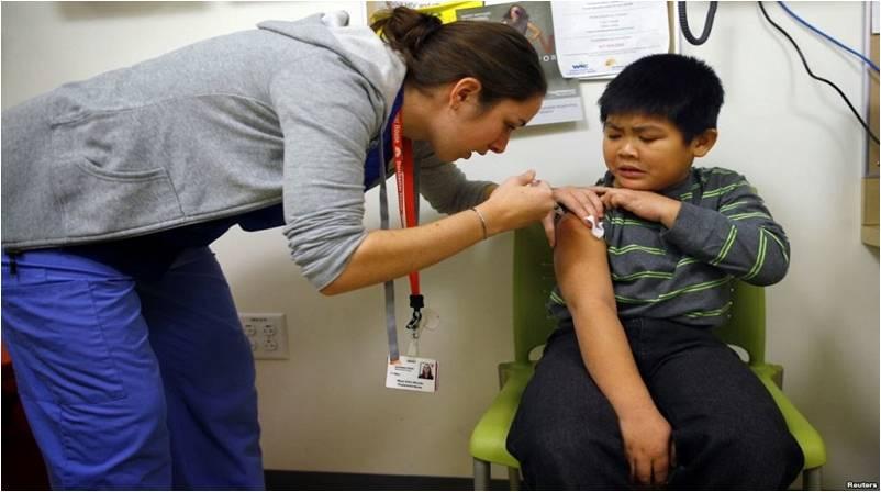 美國第二波流感爆發,十年來最嚴重 ,有92例兒童死亡。(圖片取自網路)