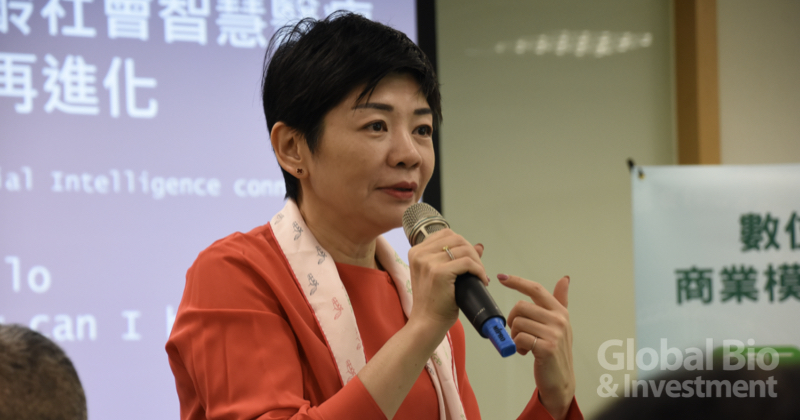 臺灣醫界聯盟基金會執行長林世嘉  (攝影/巫芝岳)
