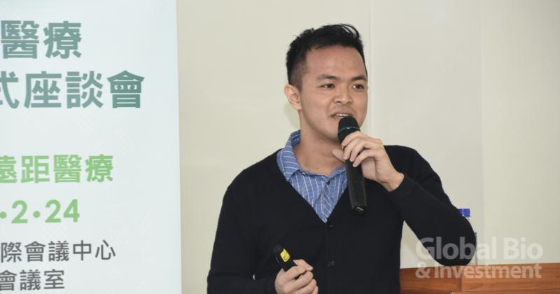 鳴醫股份有限公司創辦人謝懿 (攝影/巫芝岳)