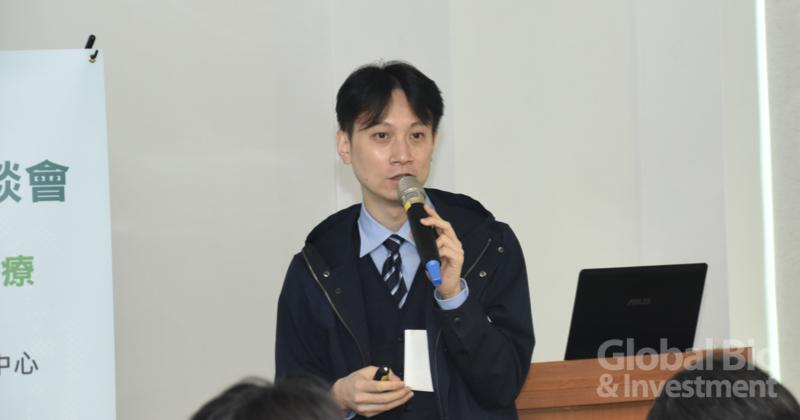 臺大遠距照護中心醫師李任光 (攝影/巫芝岳)